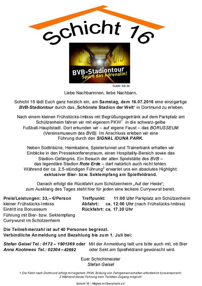 Signal Iduna Park Tour